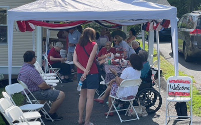 Our Independence Day: Red, White & Blue BBQ at The Potomac House Falls Church